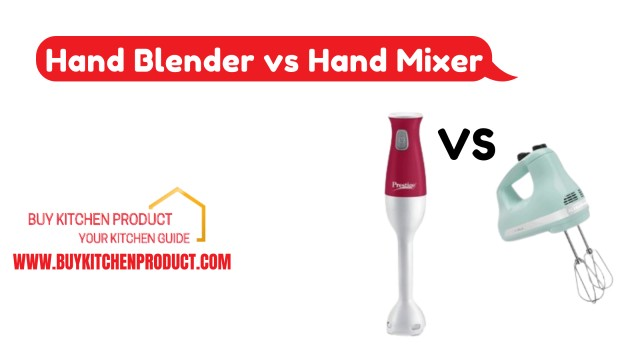 Hand Blender vs Hand Mixer
